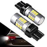 7443 LED Bulb Reverse Lights, SEALIGHT 7440/T20/7441 Backup Lights, High Performance Xenon White 6000K 27 SMD (Pack of 2)