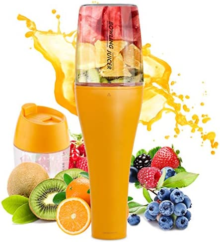 Portable Blender Personal Blender USB Rechargeable Juicer Cup Fruit Mixing for Shakes and Smoothies with 12 oz Travel Cup and Lid BPA free