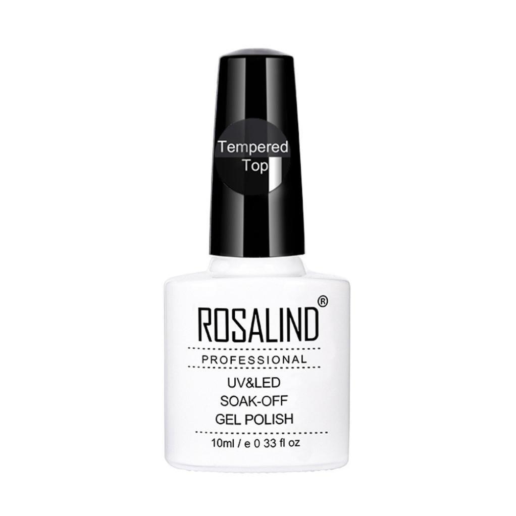 Dolloress Nail Tips⭐ ROSALIND 7ML No-clean Steel Top Coat Tempered Top Coat Long-lasting Soak-off LED UV Gel Polish