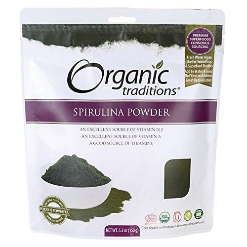 Spirulina Powder 5.3 Ounce (150 grams) Pkg