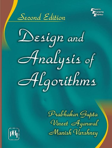 Design and Analysis of Algorithms PDF