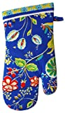 MUkitchen 100% Cotton, Terry-Lined Oven Mitt, 13-Inches, Bella