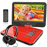 WONNIE 10.5 Inch Portable DVD Player for Kids with Swivel Screen, USB /