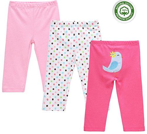 Mother Nest Baby Girls Pants Leggings Bottom 7-9 Month