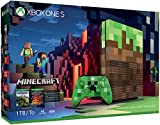 Xbox One S 1TB Limited Edition Console - Minecraft