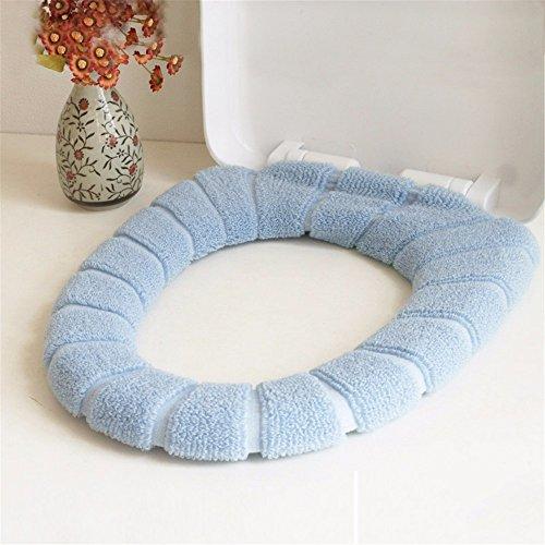 A set of toilet kit thick fluffy square O-U-common toilet seat cushion pad toilet ring B (U Toilet Seat)