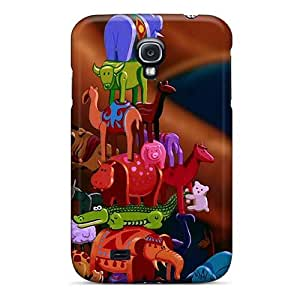 Shockproof Hard Cell-phone Case For Samsung Galaxy S4 (oTG1827ZXiV) Unique Design Vivid Inside Out Skin