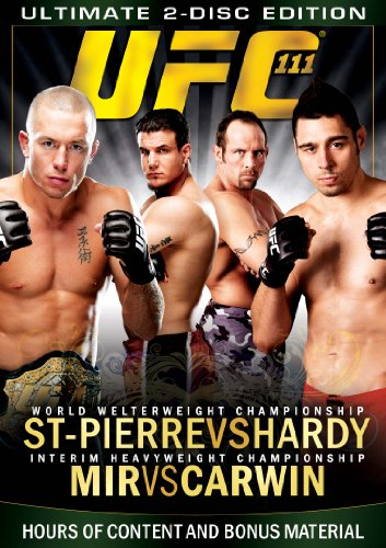 UFC 111: St-Pierre vs Hardy / Mir vs Carwin (Ultimate for sale  Delivered anywhere in Canada