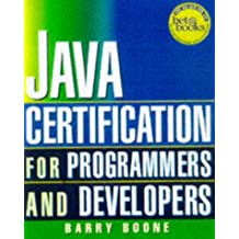Java Certification for Programmers and Developers