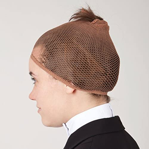 Misc. Light Brown RWR No Knot Hair Net in Five Colors