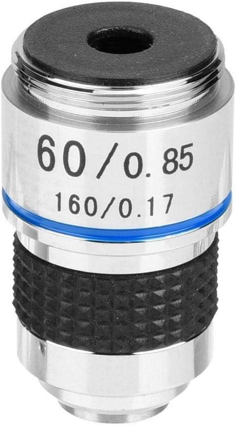 Maxmartt 60X 185 Biological Microscope Achromatic Objectives Lens 160//0.17