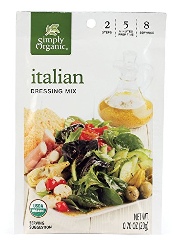 - Simply Organic Salad Dressing Mix, Italian, 0.70 oz (Pack of 12)