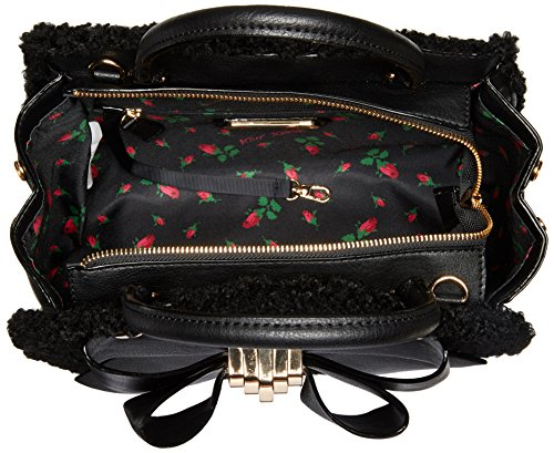 INSERT BETSEY CLUTCH BOW REMOVABLE WITH JOHNSON CROSSBODY SATCHEL Red 0r0wqB4