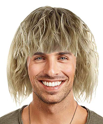 HalloweenPartyOnline Wig for Cosplay Dumb and Dumber Harry Dunne HM-218