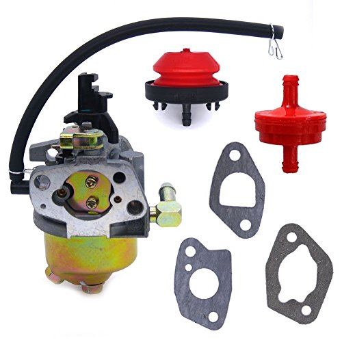 FitBest Snowblower Carburetor for HUAYI 170S 170SA 165S 165SA with Primer Bulb Fuel Filter by FitBest