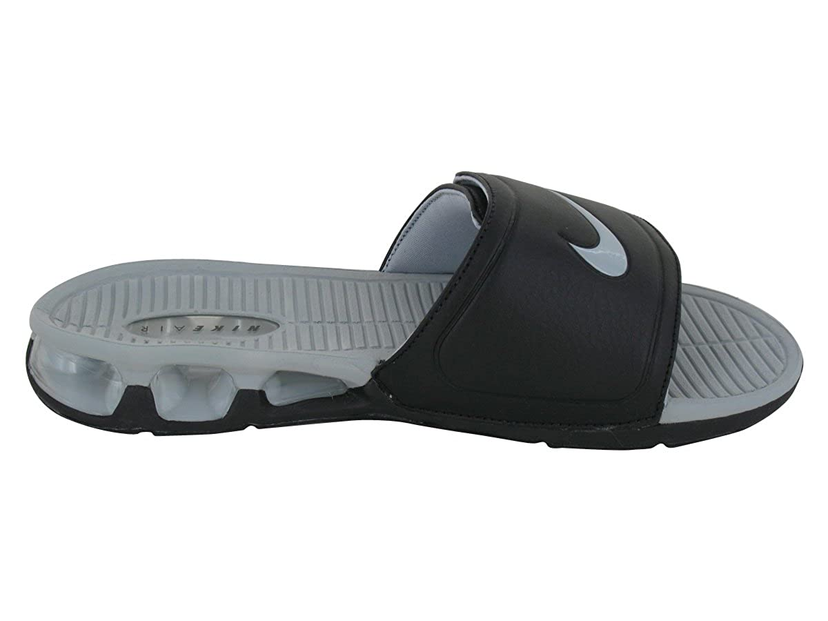sports shoes be515 4edef Amazon.com | Nike Air Experience Slide #487331-001 (13) Black/Grey |  Slippers