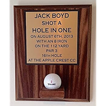 Amazon Com Valley Forge Wood Products Hole In One Ball Display Golf