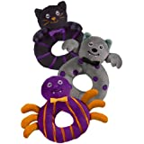 Halloween Bootiful Baby Ring Rattle (1 Piece)