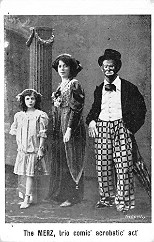 The Merz trio Comic Acrobatic Act Clown Circus