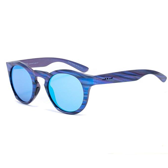 italia independent 0922-IRI-022 Gafas de sol, Azul, 48 ...