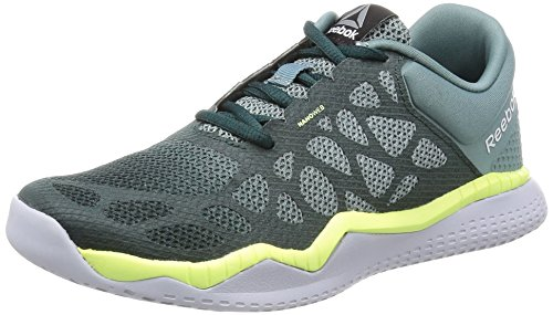 Reebok Zprint Train, Zapatillas de Gimnasia para Mujer Gris  (Teal Dust / Forest Grey / Lemon Zest / Cloud G)