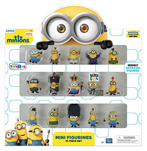 Minions Movie Mini Figurines 15 Piece Set
