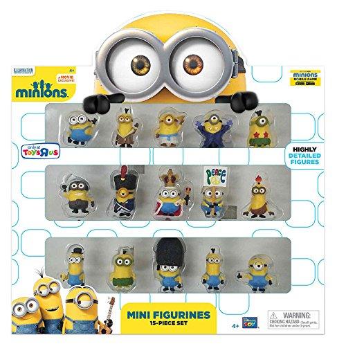 Minions Movie Mini Figurines 15 Piece (Minion Figurines)
