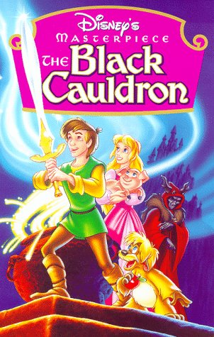 The Black Cauldron (Disney's Masterpiece) - Vhs Black