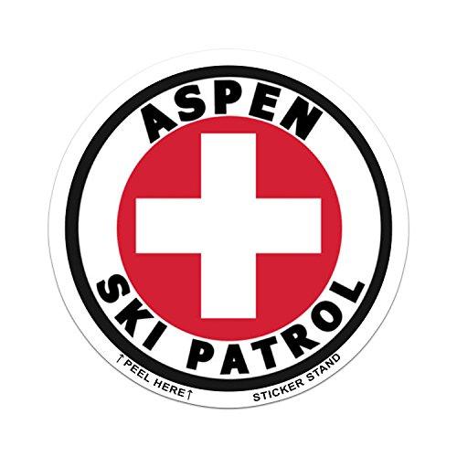 Round Aspen (Colorado) Ski Patrol ()