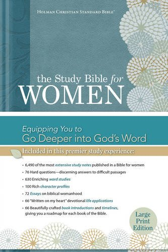 (The Study Bible for Women: HCSB Large Print Edition, Printed)