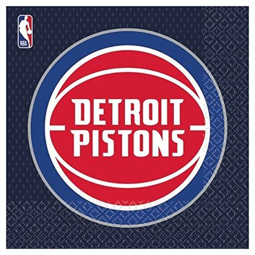 Detroit Pistons NBA Collection Luncheon Napkins