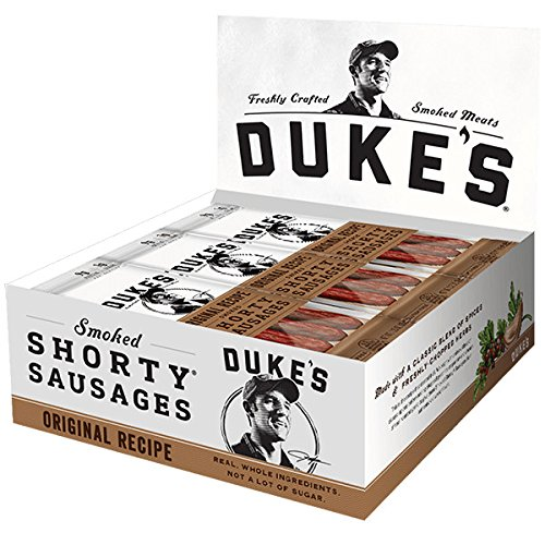 Duke's Original Recipe Smoke Shorty Sausages, 12 Pack
