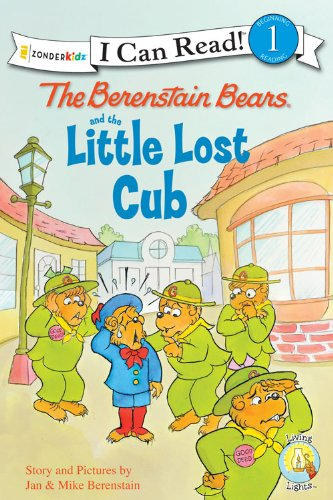 The Berenstain Bears and the Little Lost Cub (I Can Read! / Berenstain Bears / Good Deed Scouts / Living Lights)