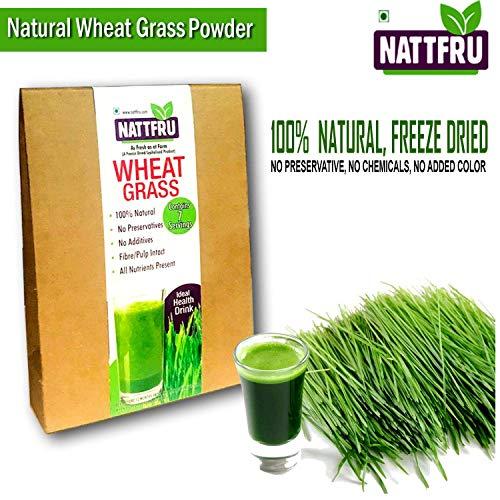 Nattfru Wheat Grass Powder 100% Natural, Pure & Freeze Dried Powder - 14 gm  (2 gm X 7 Sachet)