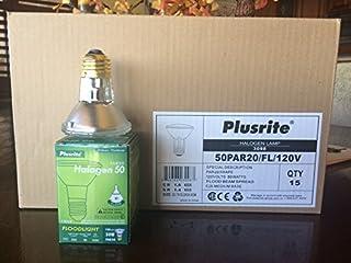 Plusrite 3098 - 50 Watt Halogen Light Bulb - PAR20 - Flood - 2,500 Life Hours - 550 Lumens - 120 Volt (B002ZPM80I) | Amazon price tracker / tracking, Amazon price history charts, Amazon price watches, Amazon price drop alerts