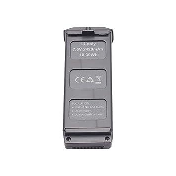 Lukame Drone Accesorios Lipo Batería de alta capacidad 7.6V ...