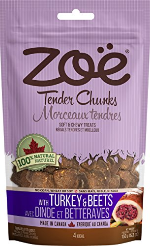 Image of Zoe Tender Chunks, 5.3 Oz., Turkey/Beets