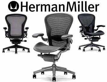 Amazon Com Herman Miller R Aeron R Chair Basic Model Size B