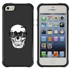 "Hypernova Defender Series TPU protection Cas Case Coque pour Apple iPhone SE / iPhone 5 / iPhone 5S [Pintura de sol Arte Muerte""]"