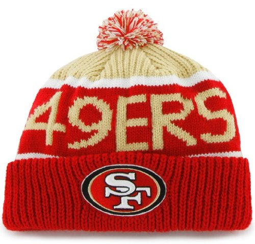 Image Unavailable. Image not available for. Color  NFL San Francisco 49Ers  Men s Calgary Knit Cap ... e6f8f60b5