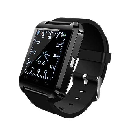 Vktech U8 - SmartWatch para Android, negro: Amazon.es: Electrónica