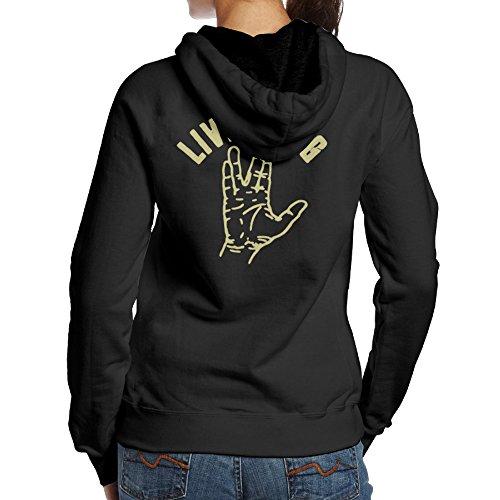 Blue Fifth Costumes Harmony (SBPZEB Star Trek Live Long And Prosper Sport Women's Hooded Sweatshirt XL)