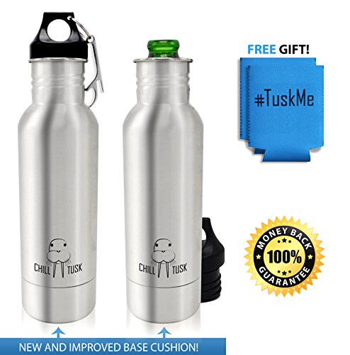 Beer Bottle Cooler Stainless Insulator product image
