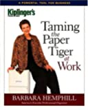 Taming the Paper Tiger at Work