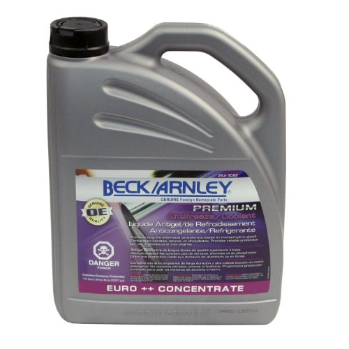(Beck Arnley 252-1022 Premium Antifreeze/Coolant Euro ++ Concentrate (G12++)