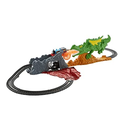 Fisher-Price Thomas & Friends TrackMaster, Dragon Escape Set: Toys & Games