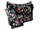 New Jessica Simpson Logo Purse Hand Bag & Matching Wallet 2 Piece Set Floral
