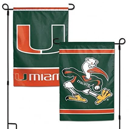 Sports Mem, Cards & Fan Shop Miami Hurricanes Canes 3x5 New Man Cave Flag House Banner Inside Outside Football-other