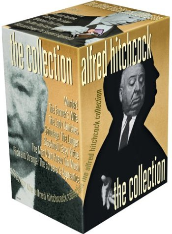 Alfred Hitchcock: The Collection (The Lady Vanishes / The Man Who Knew Too Much (1934) / Blackmail / The Farmer's Wife / Murder! / Sabotage / The Lodger / Easy Virtue / Rich and Strange / The Sorcer's Apprentice [TV (The Man Who Knew Too Much Dvd)