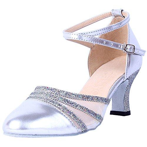 de Sal Baile Moderno Mujeres de Baile Zapatos de Zapatos Baile Wealsex vHwXqx